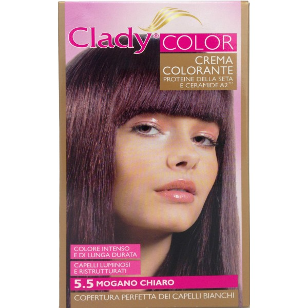 Clady Shampo Color Mogano Chiaro N55