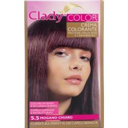 Clady shampo color mogano chiaro n.5.5
