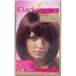 Clady shampo color rosso tiziano n.6.46