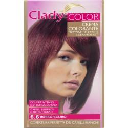 Clady shampo color rosso romano scuro n.6.6