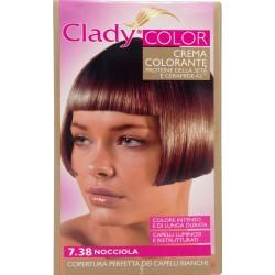 Clady shampo color nocciola n.7.38