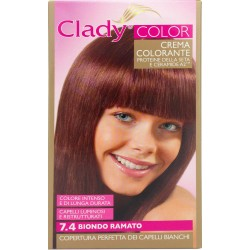 Clady shampo color biondo ramato n.7,4