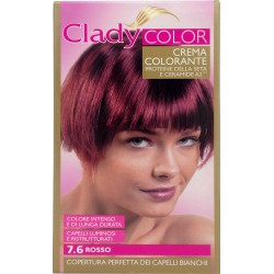 Clady shampo color rosso n.7.6