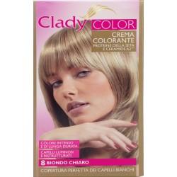 Clady shampo color biondo naturale chiaro n.8