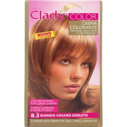 Clady shampo color biondo chiaro dorato n.8.3