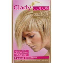 Clady shampo color biondo naturale chiarissimo n.9