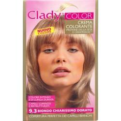 Clady shampo color biondo chiarissimo dorato n.9.3
