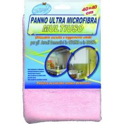 Soft Soft panno multiuso microfibra rosa cm.40x40