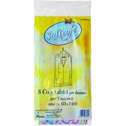 Soft soft sacco per cappotti cm.63x120 3pz