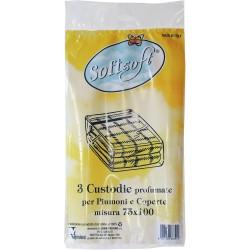 Soft Soft sacco piumoni e coperte pezzi 3 cm.75x100