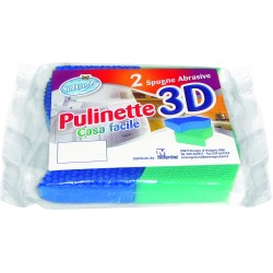 Soft Soft pulinette 3d spugne abrasive x2