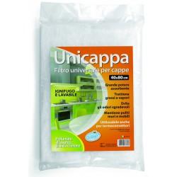 Soft Soft unicappa filtro universale per cappe cm.40x80