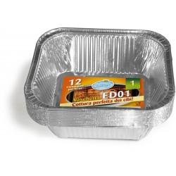Soft Soft vaschetta alluminio1 porz x12