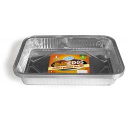 Soft Soft vaschetta alluminio porz.6 pz.4