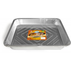 Soft Soft vaschetta alluminio per torta grande 12 porzioni pz.3