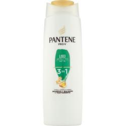 Pantene Pro-V 3in1 Shampoo+Balsamo+Trattamento Lisci Effetto Seta 225 ml.