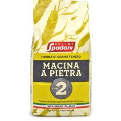 Molino Spadoni Farina di Grano Tenero Macinata a Pietra Tipo 2 kg.1