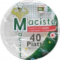 Maciste piatto fondo per microonde portata kg.1