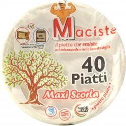 Maciste piatto piano per microonde portata kg.1