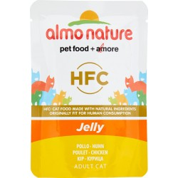 Almo nature HFC Jelly Adult Cat Pollo 55 gr.