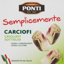 Ponti Semplicemente Carciofi Grigliati Sottolio gr.250