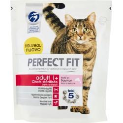 Perfect Fit adult 1+ Gatti sterilizzati Ricco di Salmone 400 g