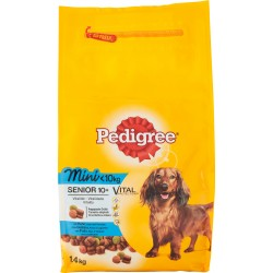 Pedigree Vital Protection Mini Senior 10+ con Pollo, Riso e Verdure 1,4 kg