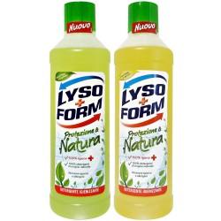 Lysoform protezione & natura agrumi oppure fiori di melo e mughetto (a scelta un tipo) lt.1