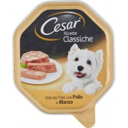 Cesar Ricette Classiche Delicato Paté con Pollo & Manzo 150 gr.