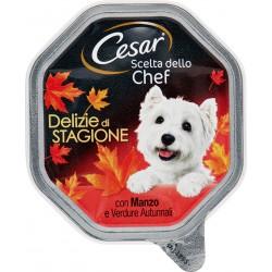 Cesar Scelta dello Chef Delizie di Stagione con Manzo e Verdure Autunnali 150 gR.