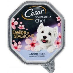 Cesar Scelta dello Chef Delizie di Stagione con Agnello, Carote e Coriandolo 150 gr.