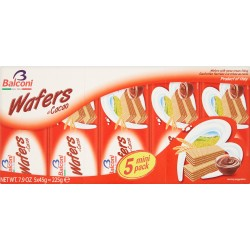 Balconi wafers al cacao 5x45 gr.