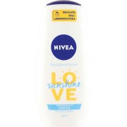 Nivea Docciaschiuma Love sunshine Fragranza di Cocco Olio Di Jojoba ml.250