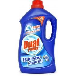 Dual power detersivo lavatrice no odore 26 lavaggi lt.1,68
