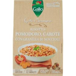 Gallo Gusto e Benessere Risotto Pomodoro, Carote con Granella di Nocciole 175 gr.