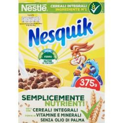 NESQUIK Palline di cereali integrali al cioccolato 375 gr.