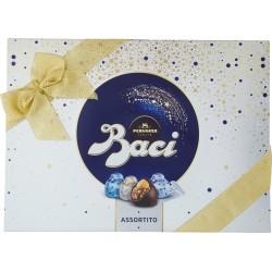 BACI PERUGINA ASSORTITO Cioccolatini ripieni al gianduia e nocciola intera scatola Natale 200 gr.