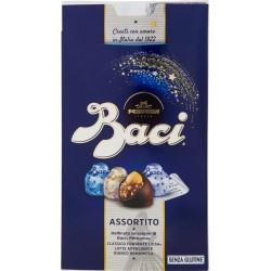 BACI PERUGINA ASSORTITO Cioccolatini ripieni al gianduia e nocciola intera scatola 200 gr.