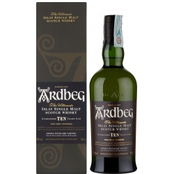 Whisky Ardbeg 10 Years Old 70 cl. Astuccio