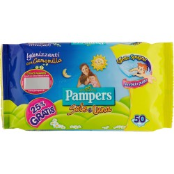 Pampers Sole & Luna salviette pz.50