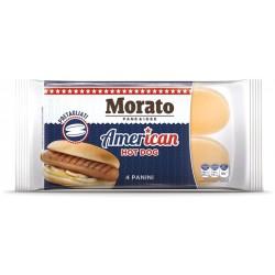 Morato hot dog pre-cut gr.250