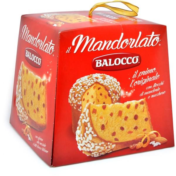 Balocco panettone mandorlato gr.750