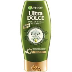 Garnier Balsamo Ultra Dolce Oliva Mitica, Balsamo per Capelli Inariditi e Sensibilizzati, 250 ml.