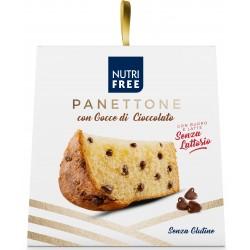 Nutrifree panettone con Gocce di Cioccolato senza glutine e senza lattosio gr.600