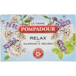 Pompadour Le Tisane Relax con Valeriana e Melissa 18 x 2 gr