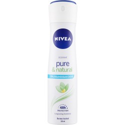 Nivea Deodorant pure & natural 150 ml