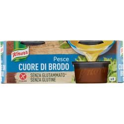 Knorr Cuore di Brodo Pesce senza glutine 4 x 28 gr.