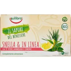 Equilibra Snella & in Linea Bio tisana 20 x 1,6 gr.