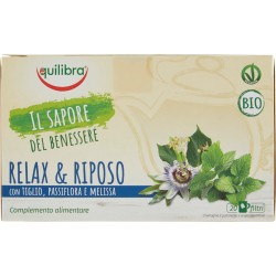 Equilibra tisana Relax & Riposo Bio 20 x 1,5 gr.