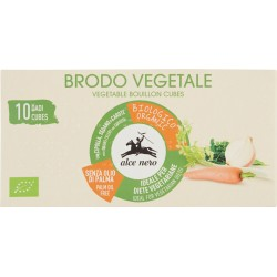 Alce nero Brodo Vegetale Dadi Bio 10 x 10 gr